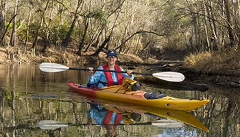 Kayaking and Canoeing in Taylor County Florida